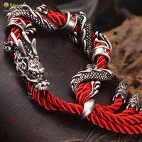 Free Shipping Bahamut The Sasang Sacred Cloud Rider Red Dragon Bracelet