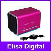 Free shipping  Music Angel 100% original Speaker,portable MD05 speaker support TF/Micro SD card,RY52