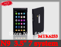 "Free Shipping N9 Phone 3.5""  N9  Mobile Phone With Russian and Polish Menu"