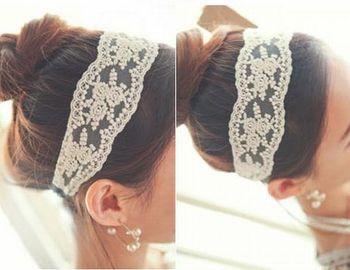 Ladies Fashion Lace Soft Headband / Hair Accessories  (SV-40)
