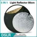 32&quot; 80cm 5 IN 1 Collapsible Light Reflector free shipping NEW