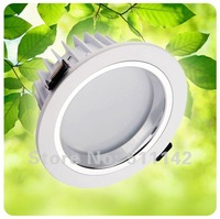 led downlights 5w, Bridgelux chip, ceiling led, recessed downlight, high power LED 100-110lm/w, white paint surface