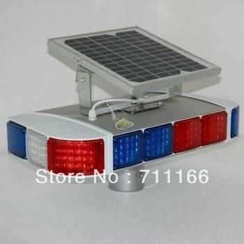 four sides solar traffic flashing light HK-JB404