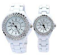 Free Shipping, White/Black Colors For Options, Sinobi Brand,Japan MovementSuper Quality Fashion Diamond Crystal Women Watches