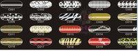 C-series 12pcs/set  Wraps Sticker Nail patch Nail Patch FoilNail Applique Decoration