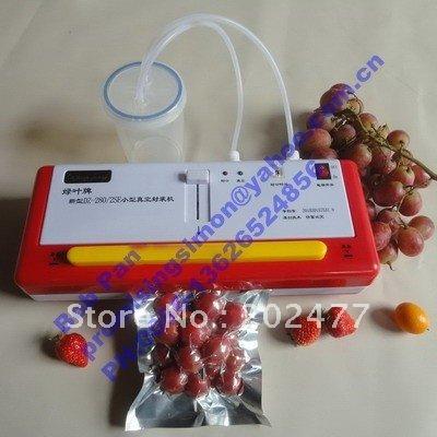 2pc/lot 220VAC 60Hz SINBO Light Industrial Vacuum Bag Sealer(China (Mainland))