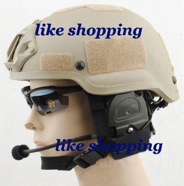 airsoft Helmet with SOPMOD NVG Mount(China (Mainland))