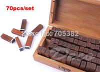 Freeshipping! 70pcs/set,Number&Letter Wood stamp Set,wood Box,Multi-purpose stamps,DIY funny work,regular script(ss-1512)