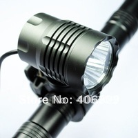 Free Shipping High Brightness 1600LM 3xR5 Cree XPG-R5 3 Modes Led Bicycle light With 4*18650 Battery Set(3*XP-G R5 Bike Light)