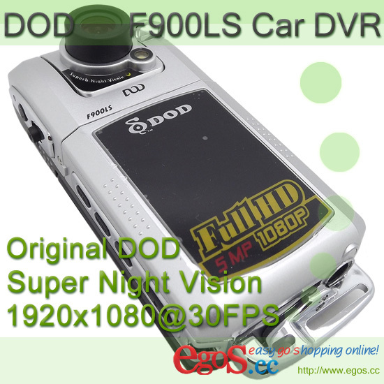 Original DOD F900LHD Upgrade F900LS Car DVR Camera Recorder support Full HD 1080P + Super Night Vision + Free Shipping(China (Mainland))