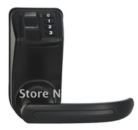 New arrival Black LS9 Cost effective  Reversible Handle Fingerprint lock door(fingerprint+password+mechanical key)