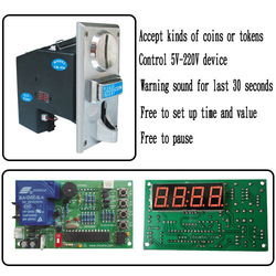 [CH] CH925 coin operated time control device for cafe kiosk, 1 coin selector with 1 timer board, washing machine, water machine(China (Mainland))