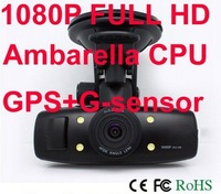 original Car camera with GPS 1920X1080P H.264 Video code with 1.5 inch LCD Freeshipping GS1000 In stock
