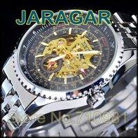HOT!20pcs/lot Wholesale Cheap Shipping Cheap Automatic Mechanical Quartz Wrist Watch,Men Watch,Stainless Steel Band, LLW-1034-20