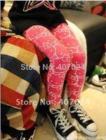 Fashional Childrens Babys girls leggings Cartoon girl leggings Pencil pants Elasticity trousers kids clothing wear 570025