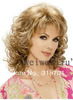 2012 Classic hair, Blonde Fashion hair,Lady wig,Medium length,,High-quality,Free shipping
