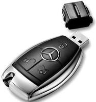 2014 really capacity USB 3.0 8GB 16gb 32gb 64gb 128gb 256gb 512gb benzcar key USB flash pendrive with black gift packing