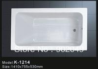 Hot Sell Free Shipping New Style Bathtub K-1214 Common Bathtub Acrylic Shower Cabin
