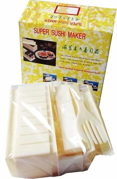 In 1 sushi mold soshi maker set sushi master rice mold making set