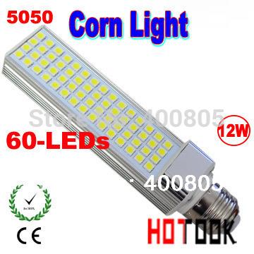 Promotion price LED Corn Light 12w 5050 SMD E27 LED lamp Bulb Lighting 220V 60 leds 60leds 60smd warranty 2 years CE ROHS(China (Mainland))