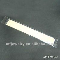 3 X 24CM Jewelry Necklace, Bracelet OPP bags (just Plastic bags)