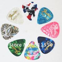 Hot sale 0.71mm Medium Guitar Picks Mix color Guitar Pick Plectrums,Free Shipping