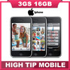 100% original factory unlocked 3GS 16GB mobile phone in sealed box Black&White Free Gift  Free shipping 1 year warranty