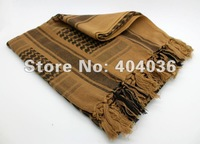 Free shipping Yellow Arab Shemagh Head Scarf Neck Wrap Authentic Best Cottton Palestine Arafat