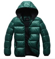 Free shipping 2012new casual fashion men's Short down coat jacket coat/winter warm downcoat