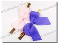 colorful fancy gift bows with a wire