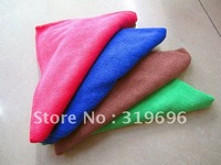 Free Shipping 20PCS Micro Fiber Towel Car Auto Washing Cleaning Towel Tea Dish Towels Square Gift Towels Wholesale&Retail40*40CM