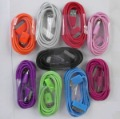 2 metres long USB cable for iphone for  ipod for itouch , 10 colour, 600pcs/lot free ship dhl ,