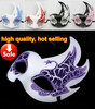 2013 spring peacock crack fire party mask venetian masquerade ball decoration wedding supply EMS free shipping 50pcs sale TAOS