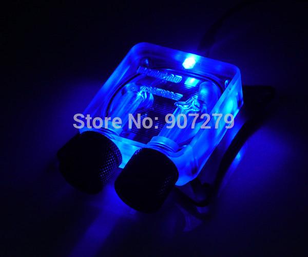 WinfMOD Bykski Universal GPU/VGA Water(Liquid) Cooling Block ----- Acrylic ------LED Version(China (Mainland))