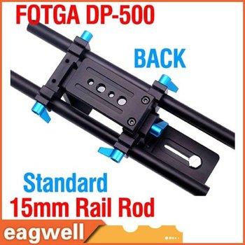NEW Fotga DP500 System DSLR rail road support 15mm for follow focus 5D II 7D 600D D7000