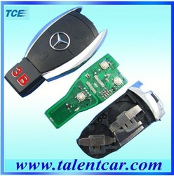 DHL/EMS...fast shipment ,mercedes benz smart key 3 button, updating benz smart key 3button(Hong Kong)
