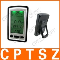 Free Shipping !! Digital Indoor Outdoor Wireless Weather Station Barometer