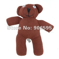 """5pcs/lot Free Shipping Wholesale 9"""" The Official Mr.Bean's Teddy Bear anime Figure Plush Toys new 2015 christmas gift"""