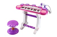 2012 NEW TOYS! Big fun! FREE shipping! multifunctional children toy electronic organ keyboard ,toy musical instrument