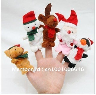 wholesale 1000pcs/lot Baby Plush Toy,Finger Puppets