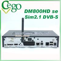 2014 DVB-S2 Tuner DM800se HD Satellite Receiver with Wifi DM800 DM800HD se Good Quality receptor satellite digital hd