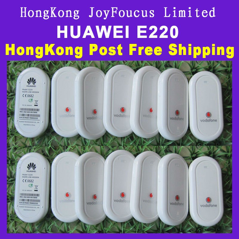 HUAWEI E220 3G USB Modem/Data Card/Stick ,support tablet ZT180 2100MHz,With global service.Frees ...