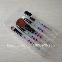 Free shipping 5pcs cosmetic brush set,makeup brush set