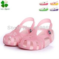 2012 Newest! Free Shipping Shirley Color-changing transparent Girls Sandal/Slippers Shoes size: insole 1 5-22cm 1 pair/lot