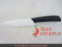 """Free Shipping! High Quality Zirconia New 100% 5"""" Ikon Ceramic utility Knife(AJ-5001W-BB)"""