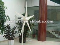 300w 5 blades 12V/24V/50HZ DC small wind generator/ windmill generator(China (Mainland))