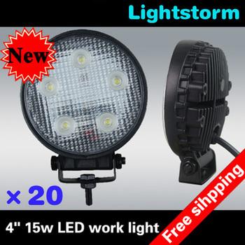 Big Promotion~!!!20pcs/lot 10-30V DC,15w flood led work lamp~1150Lm led work light~Aluminium led working light~Best Quality~!!