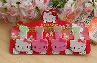 4 pcs/pack Retail Cute Hello Kitty Cartoon Memo Clip  (SI-15)