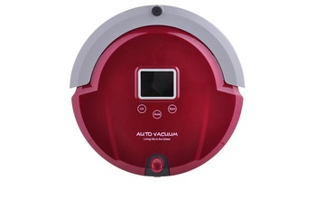 Only for Singapore Rose Red Intelligent Low Noise Thin Body Robot  Vacuum cleaner
