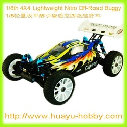 HSP 94860 1/8 Scale 4WD Lightweight Nitro Engine Off-Road Buggy CAMPER 2.4GHz RTR(China (Mainland))